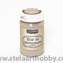 PENTART Боя за декорация SOFT  - капучино 100ML  P21630