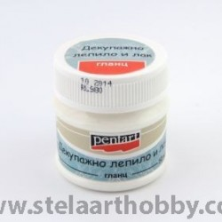 PENTART Декупажно лепило и лак 50мл - P0639