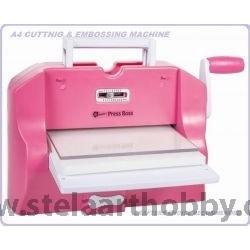 Press BOSS - Машина за рязане и релеф А4 формат (работи и с дебелите щанци SIZZIX)