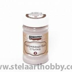 PENTART Напукваща боя стъпка 2, 100мл - викторианско розово P22695