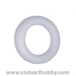 Венец от стиропор 1/2 ф350 бял