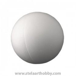 Топка от стиропор   ф -100 mm-бяла