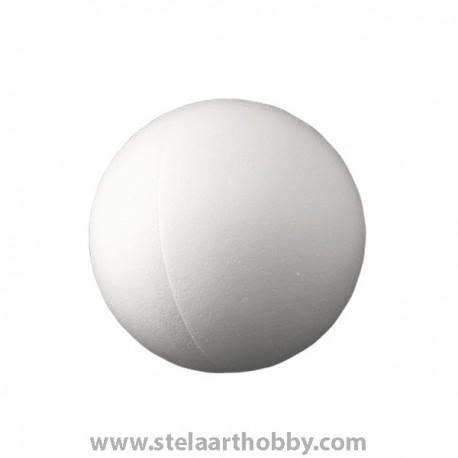 Топка от стиропор   ф -200 mm-бяла