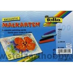 Eнкаустика-ENCAUSTIC Card -картон А6- Пакет 100 бр.