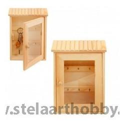 Дървена кутия за ключове -4