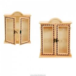 Дървена кутия за  ключове-6