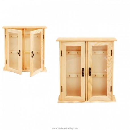 Дървена кутия за ключове-7