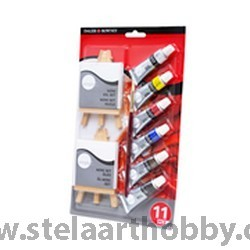 Daler Rowney маслена боя Simply комплект Mini с платна и стативи
