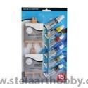 Daler Rowney Simply Mini акварел комплект, платна/стативи