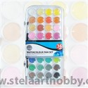 Daler Rowney акварел комплект Simply, 36 цвята