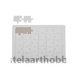 пъзел бял  А4, 21*30 cm, 1 бр