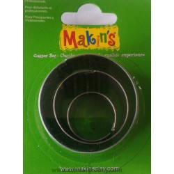 CUTTERS MAKINS - Метални форми за изрязване 3 бр кръг