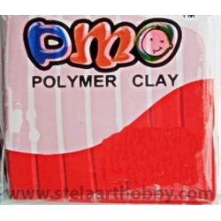 ОМО-Полимерна глина цвят ЧЕРВЕНО-1 50 гр.
