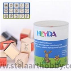 Heyda печати 15+1 бр.,-  84-Пролет