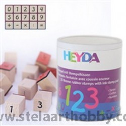 Heyda печати 15+1 бр., -78-Цифри
