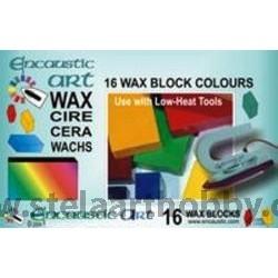 Енкаустика Encaustic WAX - Комплект 16 цв. восък - Starter set