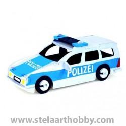 Pebaro Дървен комплект за сглобяване, Полицейска кола