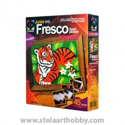 """ELF- Креативен к-т Fresco """"Tiger and butterfly""""ТИГЪР"""