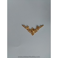 Ъгъл метален злато  4бр 4.1/4.1см